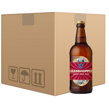 Grasshopper Red Ale 12x500ml Case