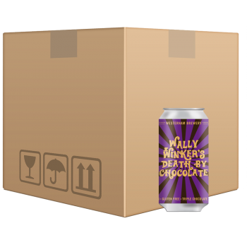 Wally Winker's Death By Chocolate 12 x 440ml Can case