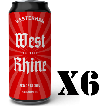 West of the Rhine - Alsace Blonde 6x440ml 6 Pack