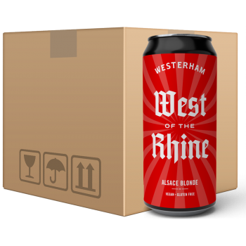 West of the Rhine - Alsace Blonde 12x440ml Can Case