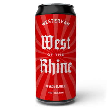 West of the Rhine - Alsace Blonde 440ml Can