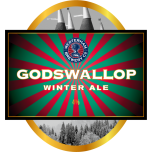 God's Wallop Winter Ale Firkin 72 Pints