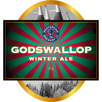God's Wallop Winter Ale Minicask 9 Pints