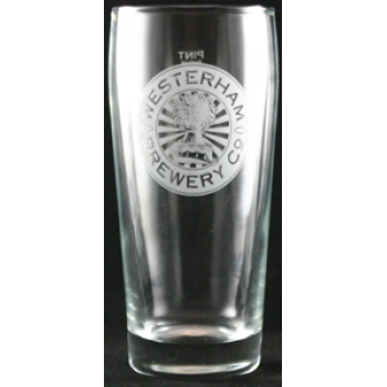 Westerham Pint Glass
