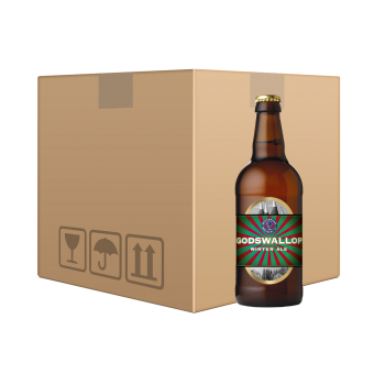 Godswallop Winter Ale 12x500ml Bottle Case