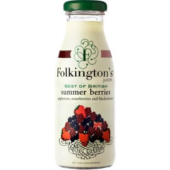 Folkingtons Summer Berries 12x250ml
