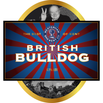 British Bulldog Firkin 72 Pints